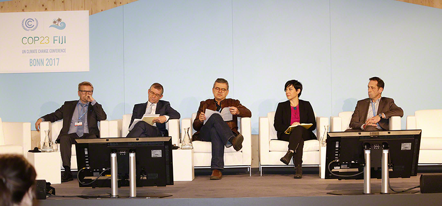 Panel at COP23