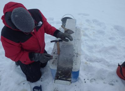 """""""Freezing-Coring"""" at IISD-ELA"""