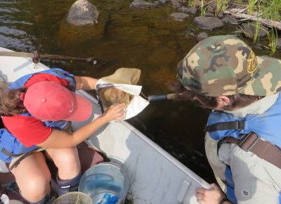 Welcoming Budding Freshwater Scientists