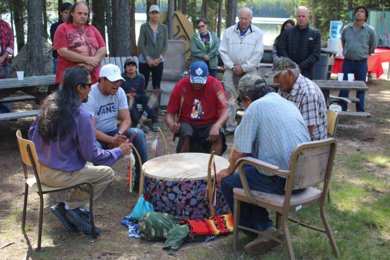 aboriginal drummers IISD-ELA