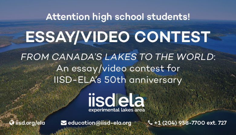 a video essay contest on freshwater in  contest rules