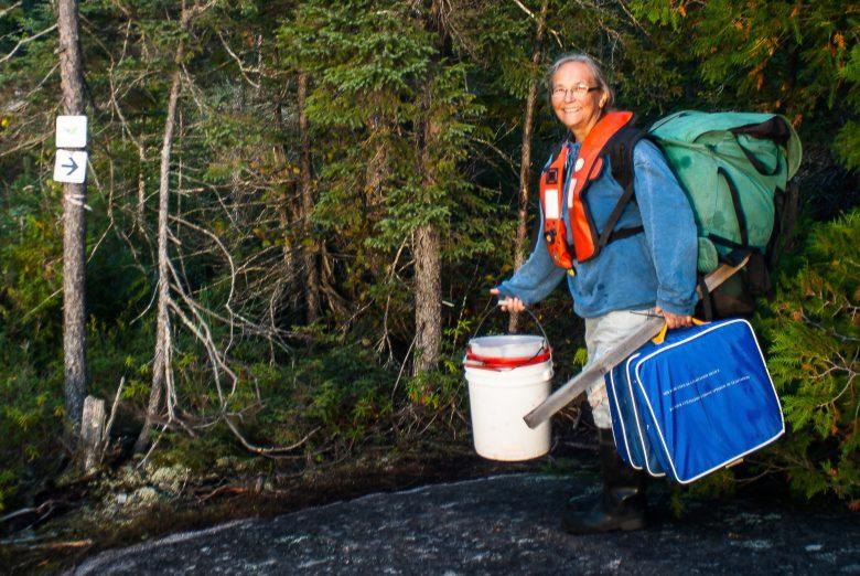Sandy Chalanchuk at IISD Experimental Lakes Area