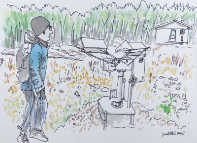 An artist's impression of IISD Experimental Lakes Area