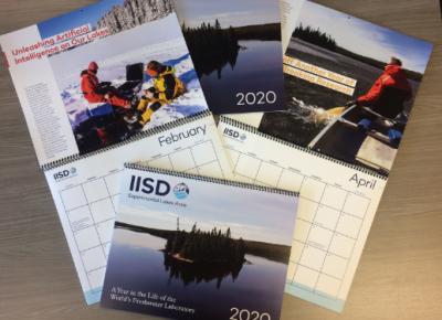IISD-ELA 2020 Wall Calendars Now Available
