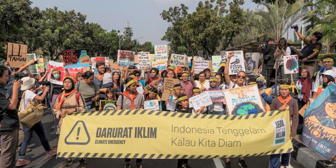 climate strike indonesia