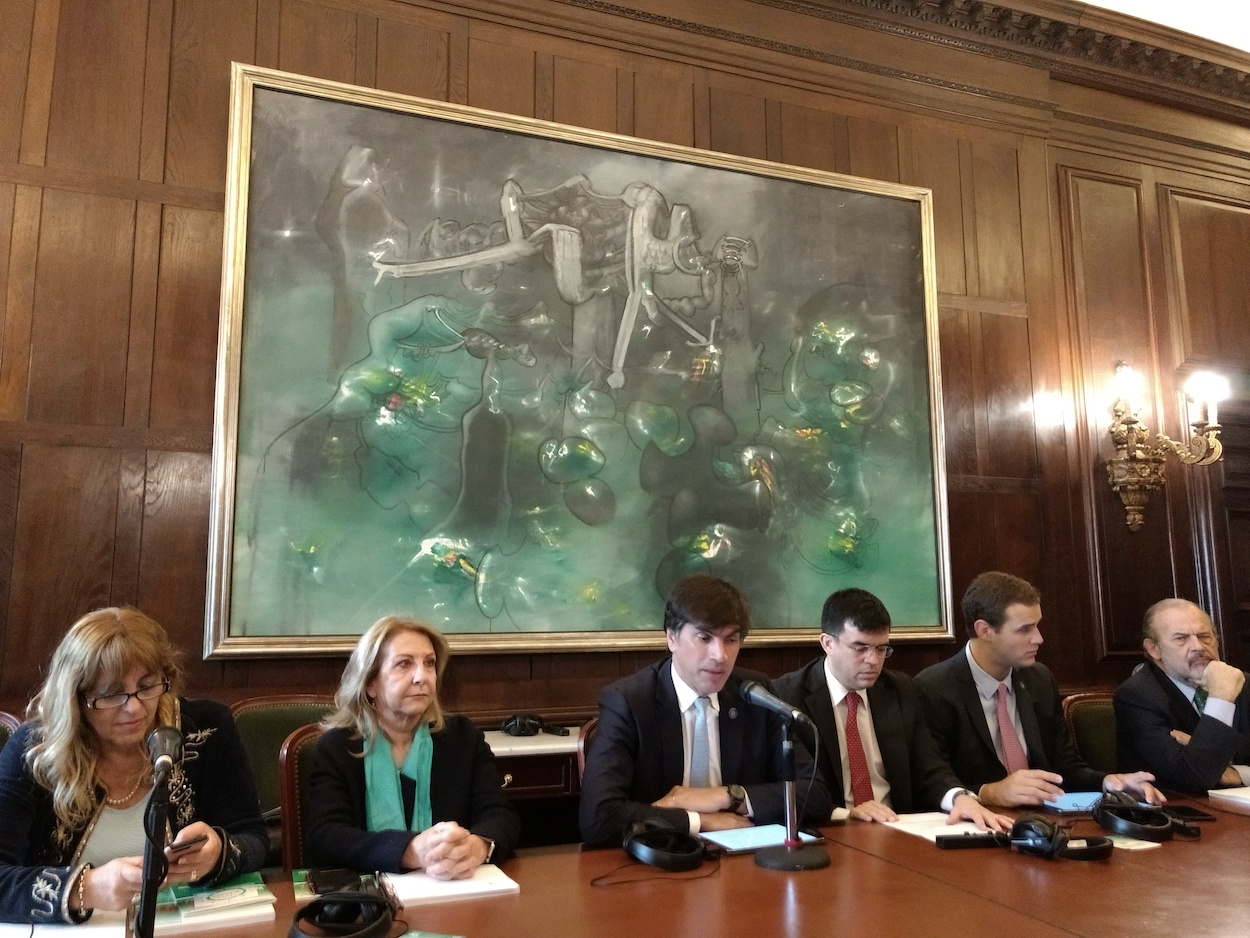 Meeting of legislators