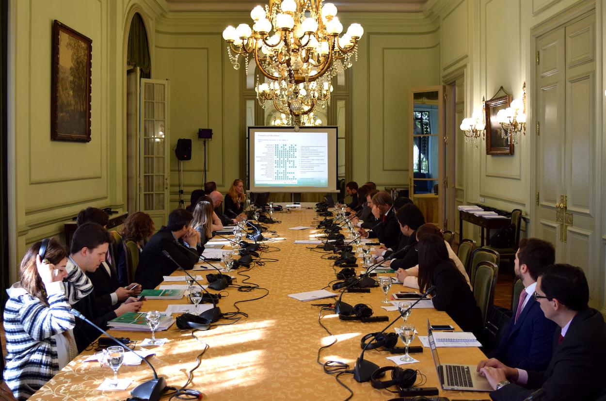 Meeting of negotiators: plenary