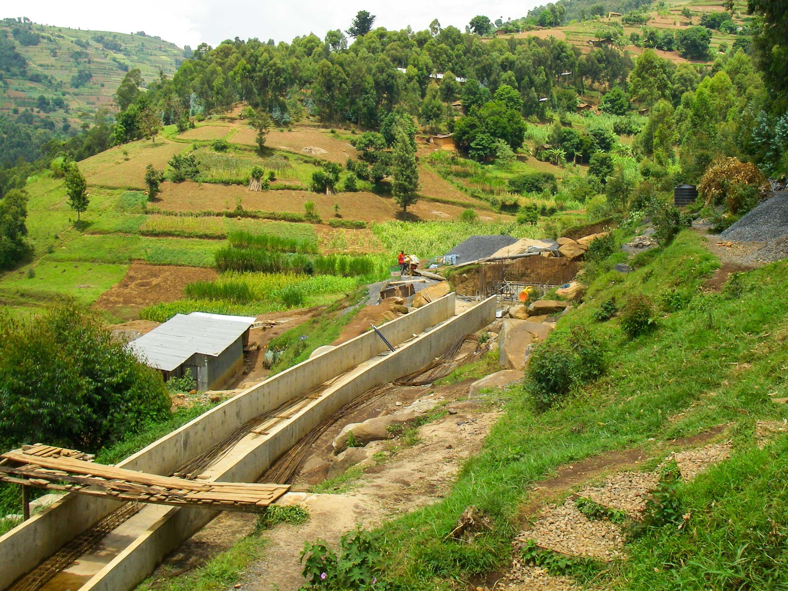 Hydro Plant in Rwanda