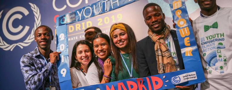 Youth at UNFCCC COP 25