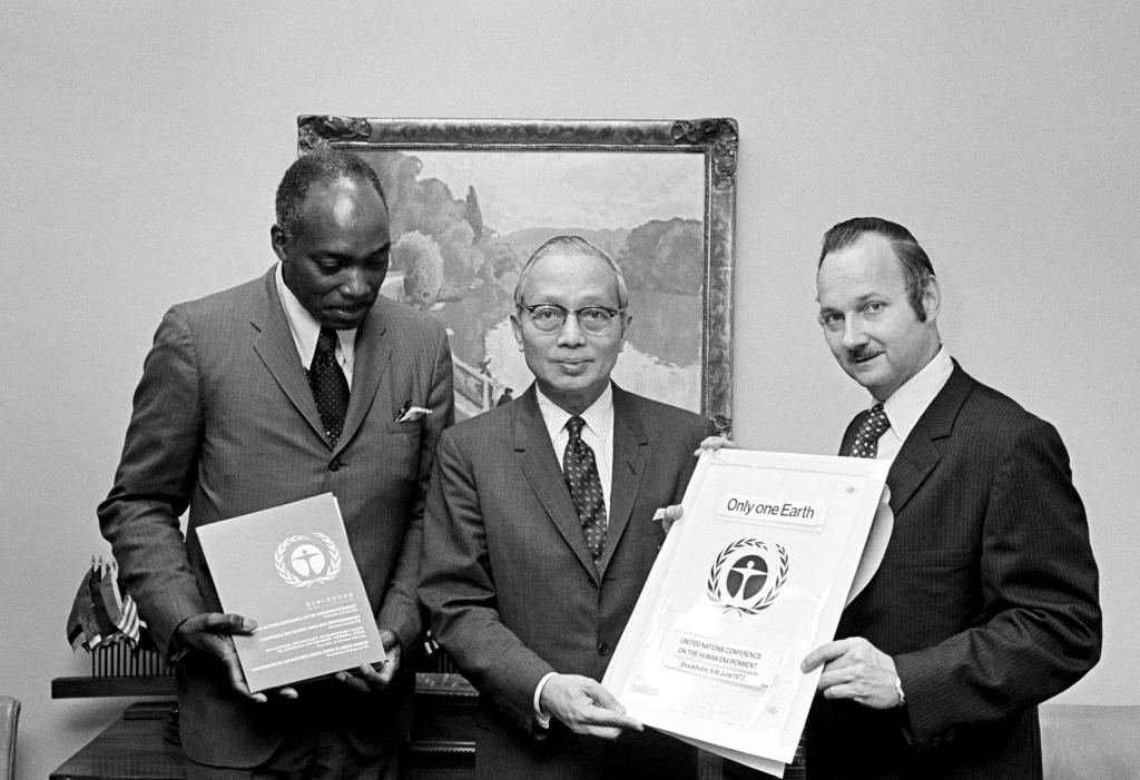 Founders of the UN Conference on the Human Environment