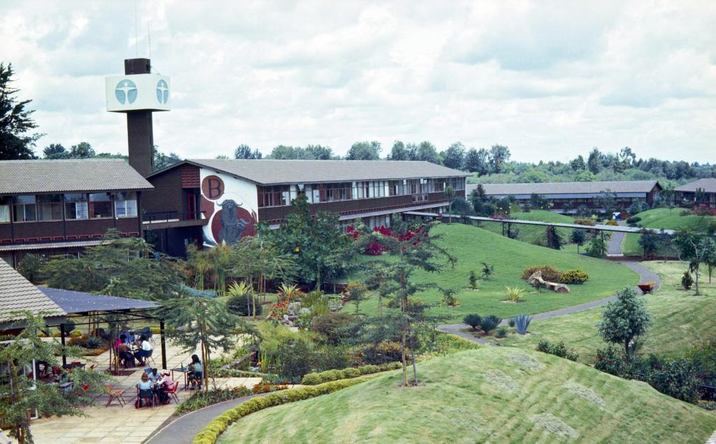 UN Headquarters in Nairobi 1978