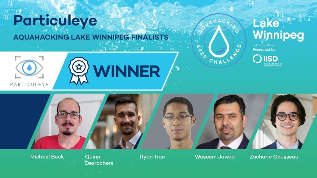 Particulareye winners Lake Winnipeg Aquahacking