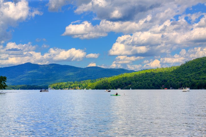 Lake George in New York State