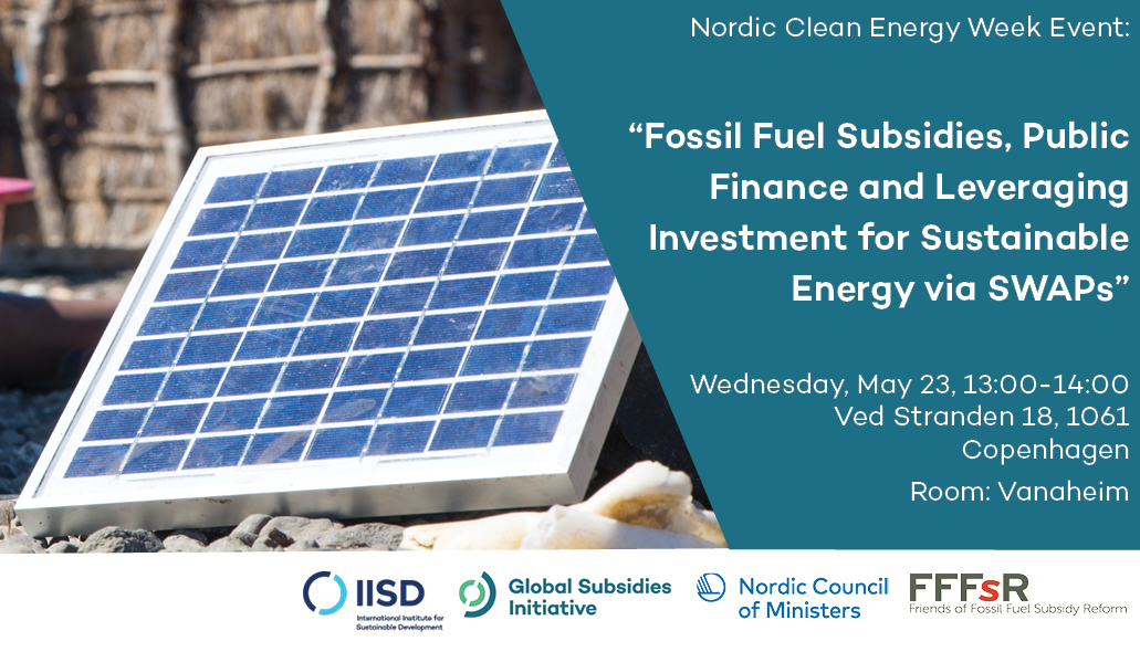 nordic clean energy week invitation to event