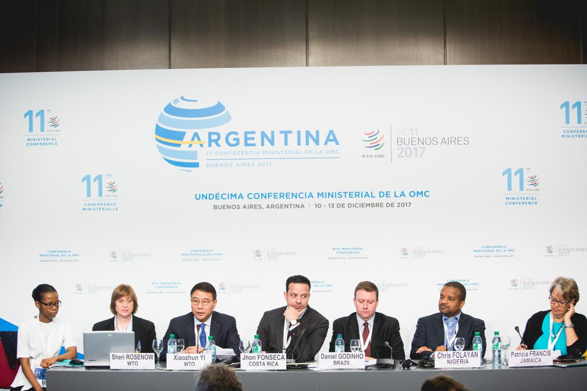 WTO Trade Facilitation Meeting in Buenos Aires, Argentina at MC11