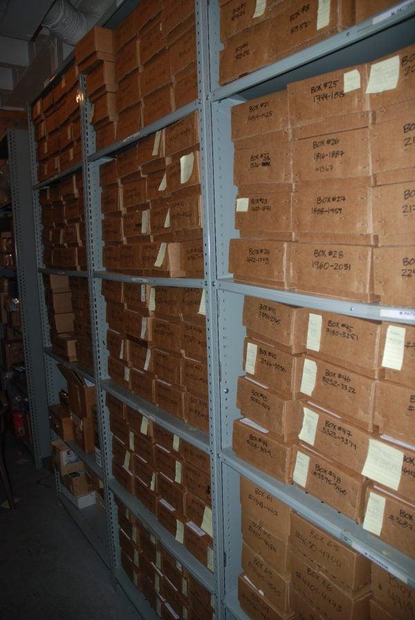 Zooplankton storage shelves